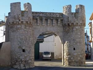Puerta de Ocaña o de San Cristóbal, monumentos de Yepes