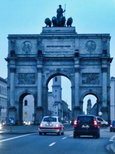 Siegestor, Arco del Triunfo de Múnich