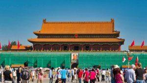 Puerta de Tiananmen, acceso principal a la Ciudad Prohibida