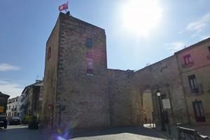 Puerta de Úbeda, uno de los restos que se conservan de la antigua muralla de Baeza