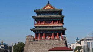 Puerta de Zhengyangmen en la Plaza de Tiananmen