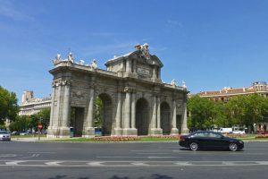 Puerta de Alcalá, una de las imágenes más icónicas de Madrid