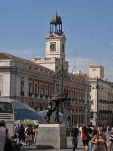 El Oso y el Madroño en la Puerta del Sol
