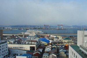 Puerto de Hakodate, uno de los primeros de Japón abiertos a occidente
