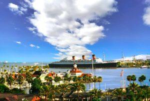Trasatlántico Queen Mary en Long Beach