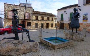 Don Quijote y Dulcinea del Toboso