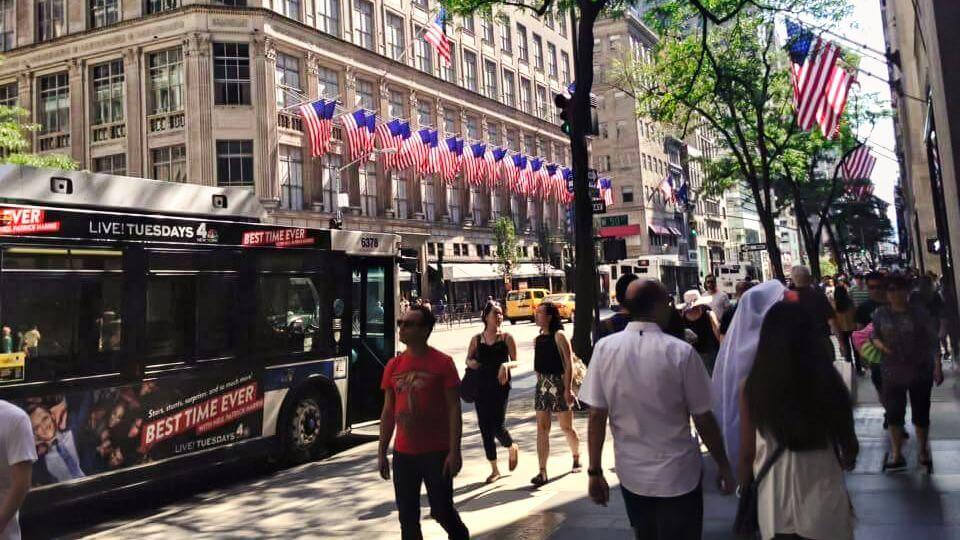 Quinta Avenida, la más famosa de las avenidas de Nueva York
