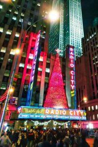 Radio City Music Hall en Navidad