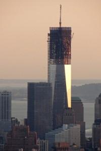 One World Trade Center al atardecer