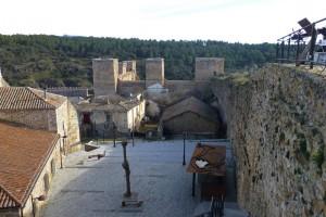 Vistas de Buitrago del Lozoya desde el adarve alto