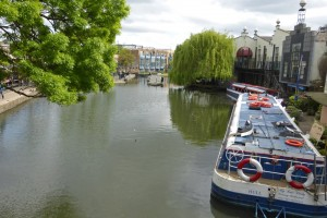 Regent's Canal atravesando Camden Town