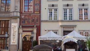 Restaurantes en la Ruta Real de Gdansk