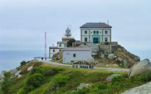 Restaurante O Semáforo, junto al Faro de Finisterre