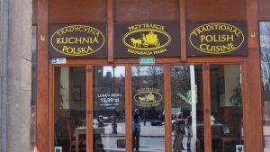 Restaurante tradicional polaco en Varsovia