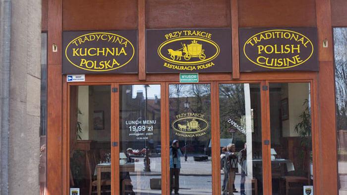 Restaurante tradicional polaco en Varsovia, qué comer en Varsovia