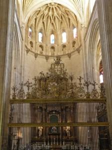 Retablo del Altar Mayor de la Catedral de Segovia