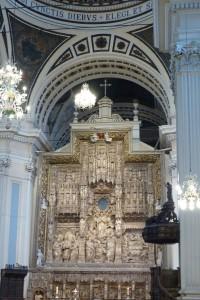 Retablo Mayor de la Basílica de Nuestra Señora del Pilar
