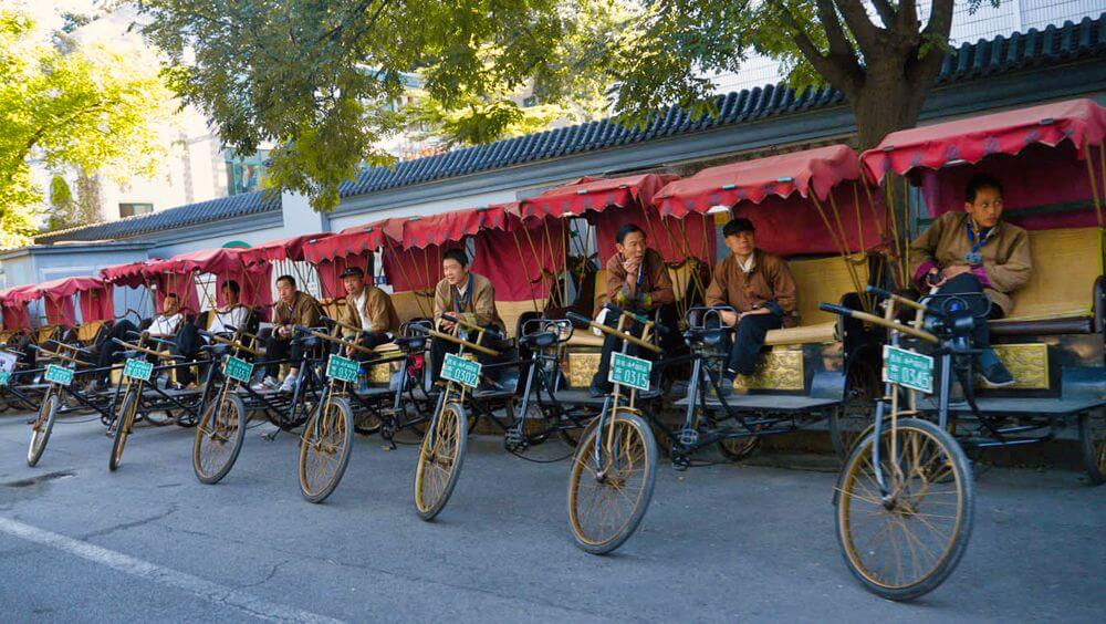 Ricksaw, la forma más pintoresca de moverse por Pekín