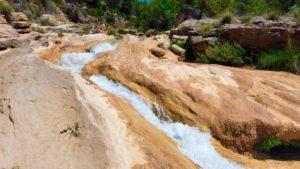 Río Cabriel horadando la roca caliza