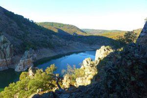 Río Tajo a su paso por el Parque Nacional de Monfragüe