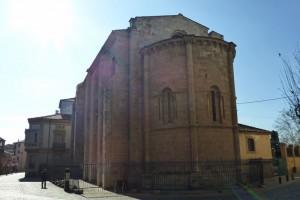 Ábside románico de la Iglesia de Santa María Magdalena, ruta del románico de Zamora