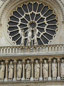 Rosetón de la Catedral de Notre Dame