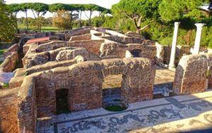 Ruinas arqueológicas de Ostia Antica