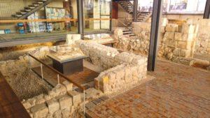 Ruinas medievales bajo el Ayuntamiento de Alicante