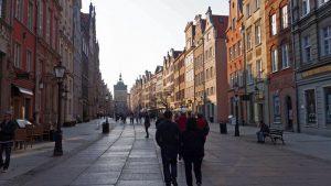 Calle principal de Gdansk
