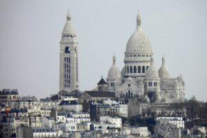 Cúpulas y torre campanario de la Basílica del Sagrado Corazón