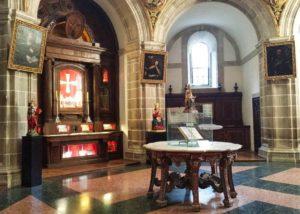 Sacristía de la Abadía de Samos