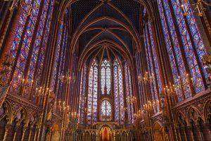 Sainte Chapelle, sirvió como capilla real de la Conciergerie