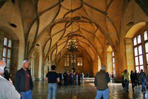 Sala Vladislav en el antiguo Palacio Real de Praga