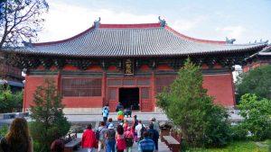 Salón Da Xiong Bao en el Templo Shanhua de Datong