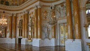 Gran Salón de la Asamblea en el interior del Castillo Real de Varsovia