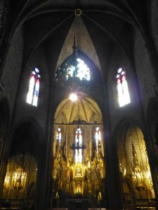 Capilla de San Saturnino, iglesias de Pamplona