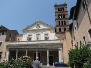 Iglesia de Santa Cecilia en Trastevere. Foto de Christopher John SSF