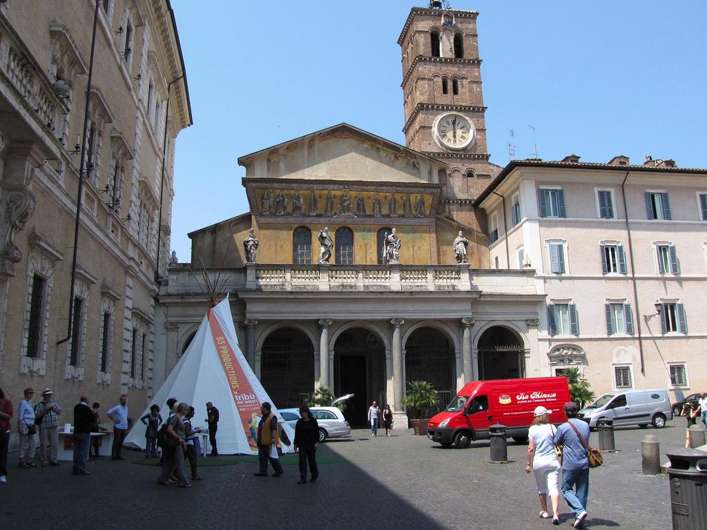 Basílica de Santa María en Trastevere. Foto de Christopher John SSF