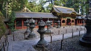 Recintos sagrados del Santuario Taiyuinbyo en Nikko