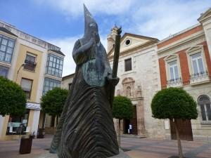 Escultura conmemorando la Semana Santa de Ciudad Real, fiestas de Ciudad Real