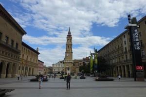 Plaza del Pilar, el escenario principal de las fiestas de Zaragoza