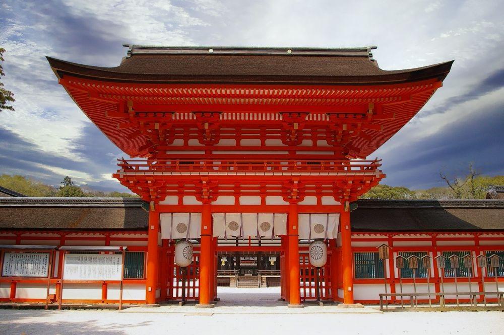 Shimogamo, uno de los santuarios Kamo de Kioto