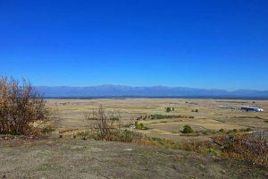 Vista de la Sierra de Gredos desde el Castillo de Oropesa