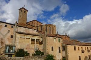 Catedral de Sigüenza dominando el Conjunto Histórico