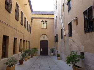 Iglesia del Corpus Christi, antigua Sinagoga Mayor de Segovia