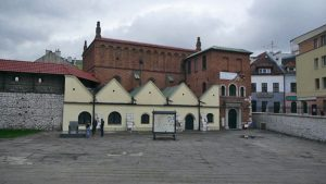 Sinagoga Vieja en el barrio Kazimierz de Cracovia