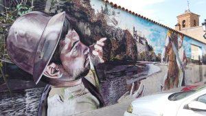 Mural de los sitios de Escalona