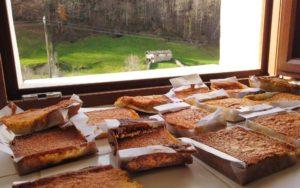 Sobaos pasiegos, uno de los dulces más típicos de la región
