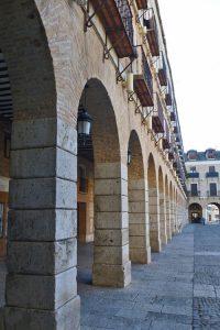 Arcos de la Plaza Mayor de Ocaña