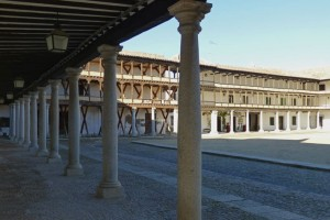 Soportales de la Plaza Mayor de Tembleque